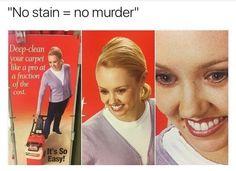 No stain = no murder || Fail