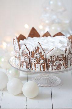 Christmas Chocolate, Christmas Sweets, Christmas Cooking, Noel Christmas, Christmas Birthday, Christmas Cake Decorations, Christmas Gingerbread House, Xmas Food, Holiday Baking