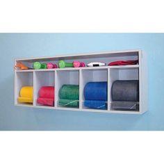 fitness equipment organizer | ... / Exercise Equipment Storage Item# 5121: Health & Personal Care