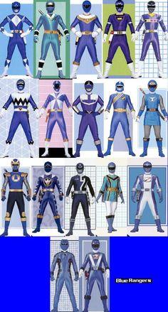 Blue Rangers by ~TommyOliver5 on deviantART