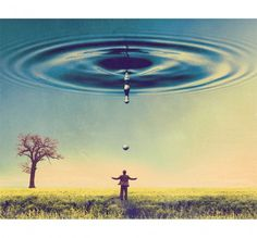 Imaginary Foundation Droplet Art Print - Art - Store