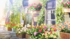 anime scenary🌼🍀 uploaded by ☆ on We Heart It Episode Interactive Backgrounds, Episode Backgrounds, Anime Backgrounds Wallpapers, Anime Scenery Wallpaper, Fantasy Landscape, Landscape Art, Aesthetic Art, Aesthetic Anime, Desenhos Love