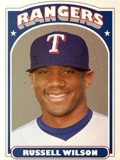 Russell Wilson, Texas Rangers #Texas #Rangers #TexasRangers #MLB #Baseball #NeverEverQuit