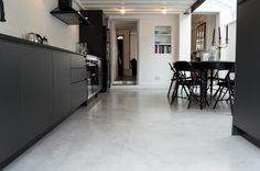 Concrete floor by The Resin Floor Company