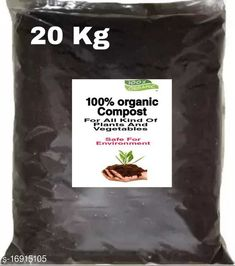 Checkout this latest Fertilizer & soil Product Name: *100% Organic compost for Plants And vegetables (20 kg)* Material: Clay Pack: Pack of 1 Country of Origin: India Easy Returns Available In Case Of Any Issue   Catalog Rating: ★3.9 (659)  Catalog Name: Classic Fertilizer & Soil CatalogID_3389024 C133-SC1608 Code: 712-16915105-054