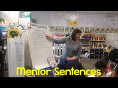 Students in grades K-5 benefit from mentor sentences, and here's the proof!