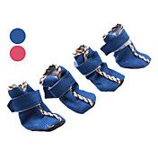 Velcro Cozy Soft Boots Shoes for Dogs (Assort... – USD $ 8.54