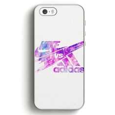 This is a Nike Vs Adidas Galaxy iPhone SE Case , high flexibility, and thin profile to protect the back and sides of your phone and allows for easy access to all buttons, functions, and ports at the s