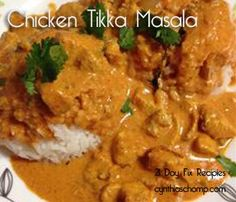 21 Day Fix Chicken Tikka Masala SO SO Delicious!! I love my Indian Dishes. I have more coming to my blog so make sure to follow this board for the 21 day fix conversions! Find me on FB as well to join my on going Fixers Group! Never miss a beat and stay on track :D
