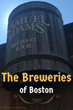 If you're a beer lover in Boston, a brewery visit is a must-do. Ryan's guide to the Boston beer scene includes highlights on each brewery in the city and tips f Boston Beer, In Boston, Boston Proper, Boston Food, Visit Boston, Bora Bora, Minneapolis, Boston Living, Nashville