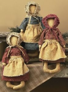 Prairie Sisters Country Doll Collection