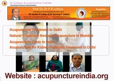 Acupuncture is a traditional Chinese method of producing analgesia or altering the function of a body system by inserting fine, wire- thin needles into the skin at specific body sites. It is highly effective in treating both acute and chronic pain associated with multiple causes. If you are in a doubt about a medical condition, then book your appointment at Dr. Lohiya Acupuncture Center in Delhi.