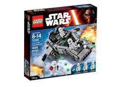 - Lego Star Wars Force Awakens First Order Snowspeeder 75100 - Sealed complete - 8- 14 years old - 444 pieces - Free shipping for ALL USA buyers. International buyers pay actual postage. (If internati