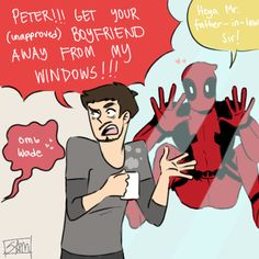 Just don't try Tony. As hard as you may try, there's no escaping Deadpool!!