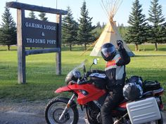 I still can't believe I rode all the way up to Alaska and back again!