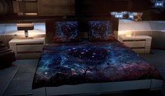 Tumblr room bed  Galaxy bedspread