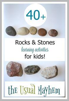 More than 40 rocks a