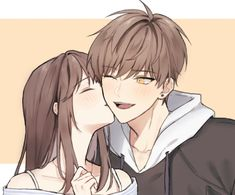 I wanna hold your hand and not let go UwU I love you so much cutie you mean everything to me good morning uwu Anime Couples Drawings, Anime Couples Manga, Manga Anime, Anime Couples Hugging, Manga Couple, Anime Love Couple, Girls Anime, Anime Art Girl, Kawaii Anime