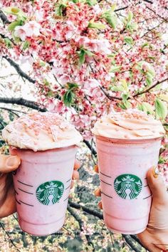 You'll Want to Go to Japan Just For Starbucks's Sakura Blossom Frappuccino