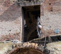 Torture weapon in the Colosseum, Rome