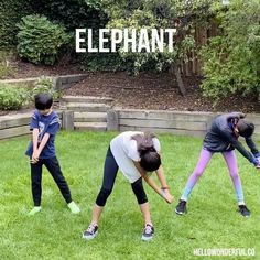 Keep the kids moving, fit and having fun with these hilarious animal exercises! They'll love pretending to be one of their favorite animals! Physical Activities For Kids, Physical Education Games, Health Education, Motor Activities, Team Building Exercises, Team Building Activities, Kids Yoga Poses, Yoga For Kids, Cat Exercise
