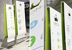 Korona Kielce Mall design by dodoplan Kielce Poland 11 FOOD COURTS! Korona Kielce Mall design by dodoplan, Kielce Poland Web Banner Design, Web Design, Environmental Graphic Design, Environmental Graphics, Mall Design, Retail Design, Visual Design, Wayfinding Signs, Sign System
