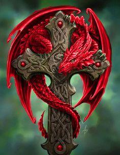 Red My pet Dragon