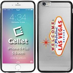 TPU / PC Proguard Case with Welcome to Las Vegas for iPhone 6 Plus