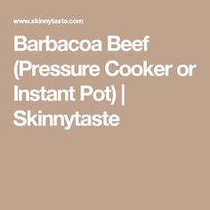 If you like cumin and spicy food, then you'll love Barbacoa Beef. Spicy shredded beef braised in a blend of chipotle adobo, cumin, cloves, garlic and oregano. Instant Pot Pressure Cooker, Pressure Cooker Recipes, Slow Cooker, Pressure Cooking, Best Instant Pot Recipe, Twice Baked Potatoes, Shredded Beef, Thing 1, Broccoli And Cheese