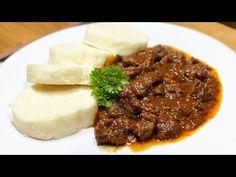 Maďarský guláš   Recepty, nápady a inšpirácie Mashed Potatoes, Beef, Ethnic Recipes, Food, Red Peppers, Whipped Potatoes, Meat, Smash Potatoes, Meals