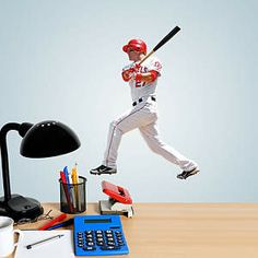 Mike Trout Teammate Fathead Decal