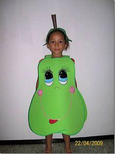 Image result for disfraz de frutas
