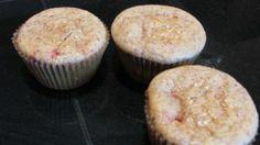 Strawberry-Vanilla Almond Muffins