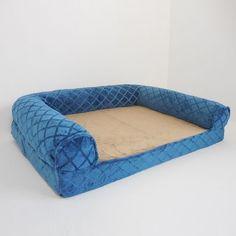 Canine Creations Orthopedic Diamond Embossed Bolster Pet Bed - 36'' x 27''
