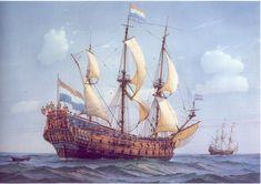 De 7 provincien, vlaggeschip van Michiel de Ruyter