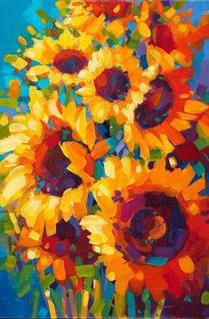 I love sunflowers. my favorite.