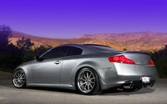 infiniti-g35-coupe-silver-volk-gt-f | Rides & Styling