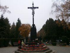 Znojmo hřbitov hlavní kříž