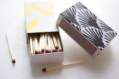 Klädda tändsticksaskar av Beatrice på Herbariumet Incense, Diy Projects, Handmade Crafts, Diy Crafts