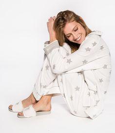 91c28de047 Starry Eyed soft flannel pajama from PJ Salvage  cozy  pajamaday Flannel  Pajama Pants