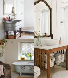 Provence Interior Design Ideas - French Style Interior with Best Photos Bathroom Design Small, Bathroom Interior Design, Living Room Interior, Kitchen Interior, Interior Decorating, Interior Ideas, French Country Interiors, French Country Furniture, Provence Interior
