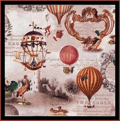 Items similar to Set of 2 pcs ''Vintage Balloons'' paper napkins for Decoupage or collectibles Decopatch napkins, Mixed media napkins on Etsy Decoupage Vintage, Decoupage Glass, Paper Napkins For Decoupage, Vintage Paper, Vintage Table, Home Fashion, Hot Air Balloon, Altered Art, Paper Art