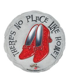Another great find on #zulily! The Wizard of Oz 'There's No Place Like Home' Stepping Stone #zulilyfinds