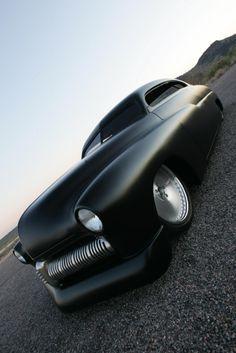 Bad ass...the car looks sleek...old classics...yeah!