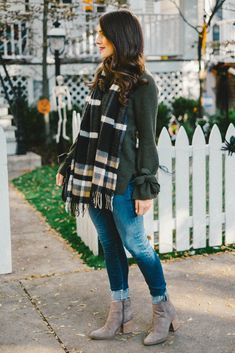 Cozy sweater and pla