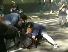 Here's one for you. The left is now trying to deny that Antifa even exists. Seriously. First, they tried to condone the group by emphasizing their anti-fascist ideology and by saying it's ok to punch Nazis.  That stance emboldened Antifa, and now there's countless video evidence of these thugs sta