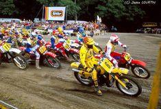 Motocross 80's # brad lackey # Graham Noyce