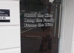 Shoot the kids, hang the family, frame the wife: Cheeky Photographer