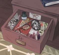 Hanges drawer by drinkyourfuckingmilk.tumblr.com