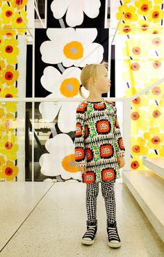 Marimekko spring and summer interior collection 2014 Marimekko, Summer Kids, Summer 2014, Spring Summer, Cool Patterns, Print Patterns, Textiles, Modern Kids, Kids Prints